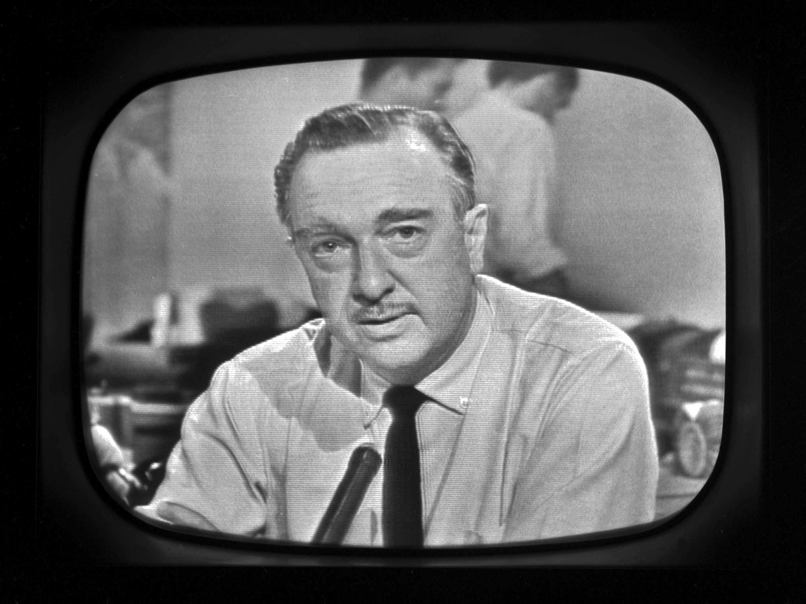CBS News anchor Walter Cronkite reports that President John F. Kennedy was assassinated in Dallas on Nov. 22, 1963.